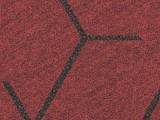 Forbo Flotex Triad, 131001 red