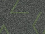 Forbo Flotex Triad, 131013 green line