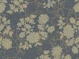 Forbo Flotex Floral, 650011 Silhouette Steel