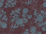 Forbo Flotex Floral, 650012 Silhouette Berry