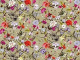 Forbo Flotex Floral, 840004 Botanical Poppy