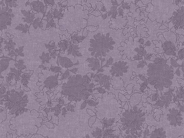 Forbo Flotex Floral, 650005 Silhouette Blueberry