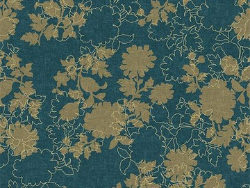 Forbo Flotex Floral, 650009 Silhouette Neptune