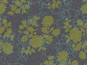 Forbo Flotex Floral, 650010 Silhouette Mineral