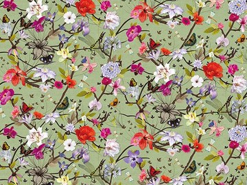 Forbo Flotex Floral, 840003 Botanical Orchid