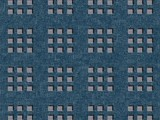 Forbo Flotex Pattern, 600006 Cube Steel