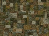 Forbo Flotex Pattern, 610002 Collage Moss