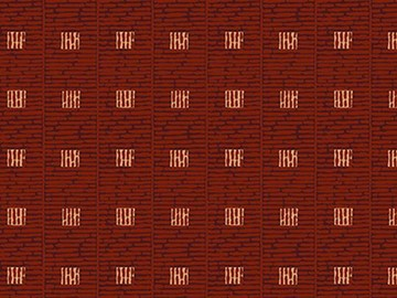 Forbo Flotex Pattern, 570005 Grid Rust