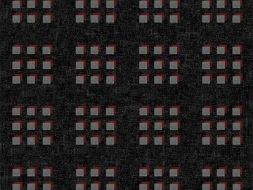 Forbo Flotex Pattern, 600018 Cube Graphite